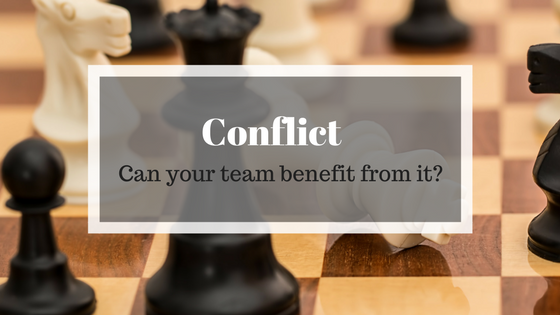 Conflict can benefit your team