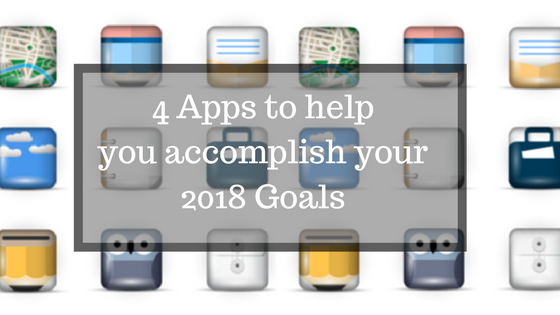 4 Apps to help you accomplish your goals