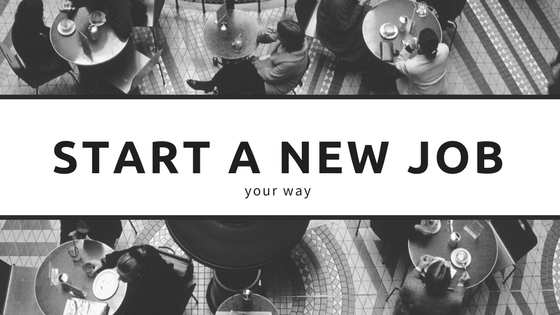 Start on your job with your best food forward