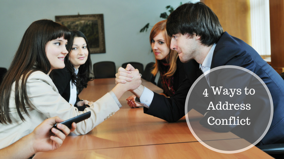 4 Ways to address Conflict