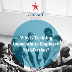 Training helps increase employee satisfaction